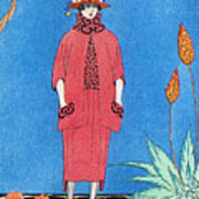 Womens Fashion, George Barbier, 1921 Poster