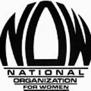 Womens Rights: Now Logo Poster