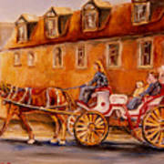 Wonderful Carriage Ride Poster