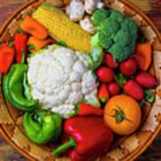 Wonderful Fresh Vegetables Poster