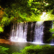 Wondrous Waterfall Poster