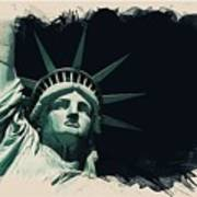 Wonders Of The Worlds - Lady Liberty Of New York 2 Poster