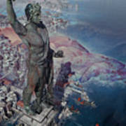 wonders the Colossus of Rhodes Poster