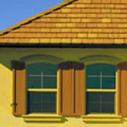 Woodbury Windows No 2 Poster