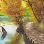 Woodem Bridge Poster