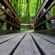 Wooden Bridge Poster
