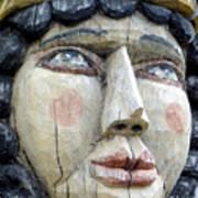 Wooden Carving In Santa Fe 8 Poster