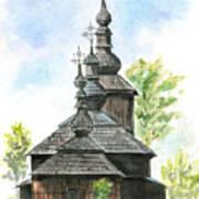 Wooden Church Poster