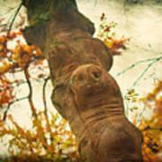 Wooden Creatures Poster