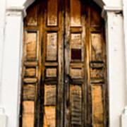 Wooden Door 1 Poster