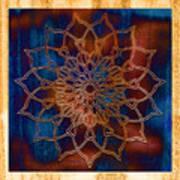 Wooden Mandala Poster by Hakon Soreide