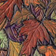 Woodland Carpet Poster