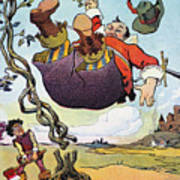 Woodrow Wilson Cartoon Poster by Granger