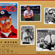 Woody Hayes Legen Five Panel Poster