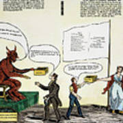 Workie Cartoon, 1829 Poster