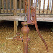 Working Hand Pump Poster