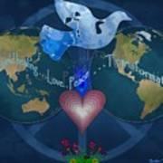 World Healing Inspirational Poster