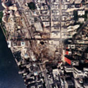 World Trade Center, Aerial Photograph Poster by Everett