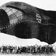 World War I: Airship Poster