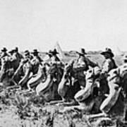 World War I: Camel Corps Poster