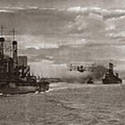 World War I: Naval Fleet Poster