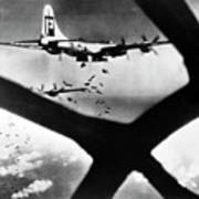 World War II B-29 1945 Poster