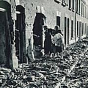 World War II: Blitz, 1940 Poster