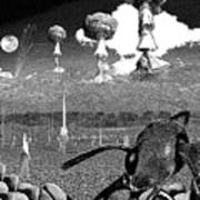 Book Illustation - World War Zero Poster