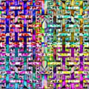 Woven Abstract Poster