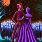 Wrangler's Moon IIi Poster by Brenda Higginson