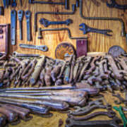 Wrenches Galore Poster