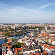 Wroclaw Cityscape In Poland Poster