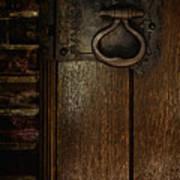 Wrought Iron Door Latch Poster