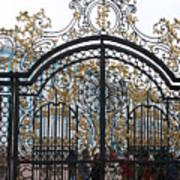 Wrought Iron Gate Poster