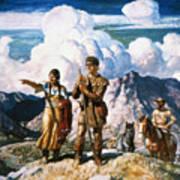 Wyeth: Sacajawea Poster