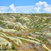 Wyoming Badlands Poster