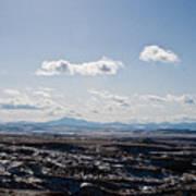 Wyoming Skies Poster