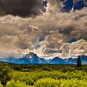 Wyoming Sky Poster