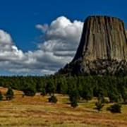 Wyoming's Devil's Tower Poster