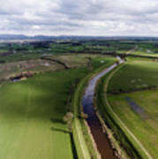 Wyre From The Air Poster