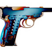 X-ray Art Of Walther P38 No.2 Poster