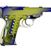 X-ray Art Of Walther P38 No.5 Poster