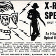 X-ray Specs $1.00 Poster