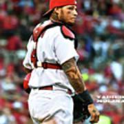Yadier Molina, St. Louis Cardinals Poster