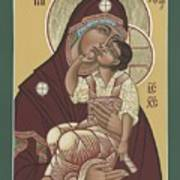 Yakhrom Icon Of The Mother Of God 258 Poster