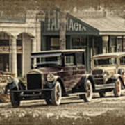 Ybor City Prop Cars Poster