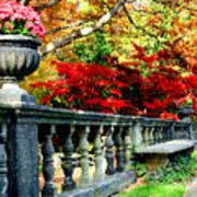 Ye Olde Garden Bench Poster