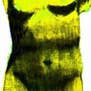 Yellow Aphrodite Poster