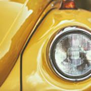 Yellow Beetle Poster
