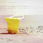 Yellow Bucket Poster